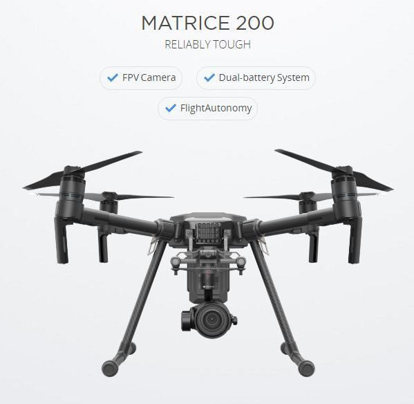 DJI Matrice 200 (M200) Commercial/Industrial Drone