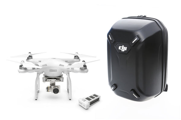 DJI Phantom 3 Professional with Extra Battery +Hardshell Backpack Combo