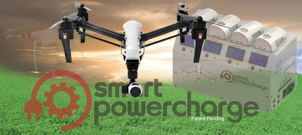 Smart PowerCharge - DJI Inspire 1 Multi-Battery Smart Charging Station (SPCM100)