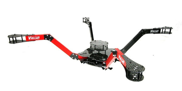 Vulcan Black Widow X8 Folding Air Frame Kit with Mantis Arms and Quick Release Locks(Frame Diameter:950mm)