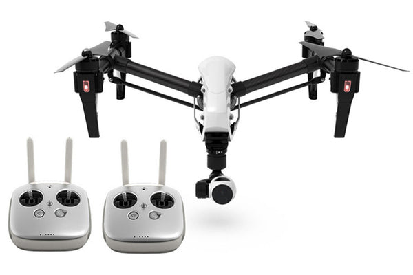 DJI INSPIRE 1 WITH 4K v2.0 CAMERA AND DUAL REMOTE OPERATOR