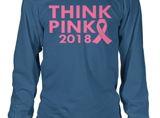 Think Pink 2018 Long Sleeve, Unisex