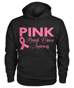 Think Pink Breast Cancer Awareness Hoodie, Unisex