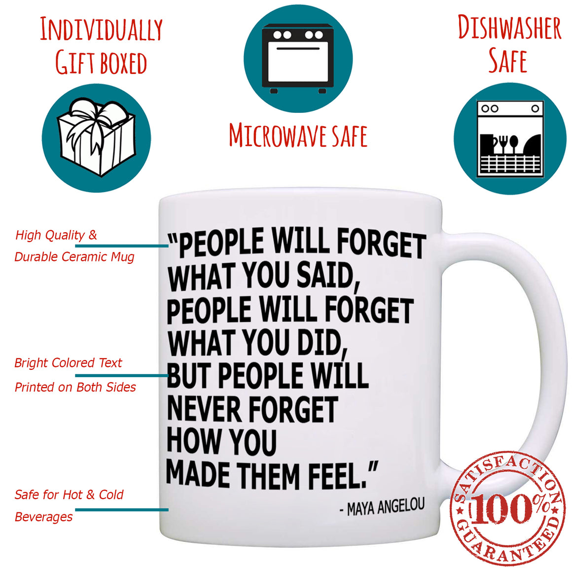 Funny College Graduation, Appreciation Quotes Gifts for Doctors and Nurse Practitioner Gift Mug - Printed on Both Sides!
