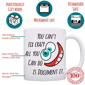 Funny Graduation Gift for Nurses - Gifts for Doctors and Nurse Practitioner Mug - Printed on Both Sides! - Stir Crazy Gifts
