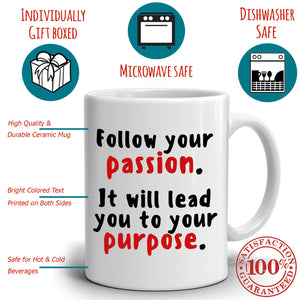 Graduation Gift Quotes for Men and Women College Graduate, Grad Gifts Coffee Mug, Printed on Both Sides!