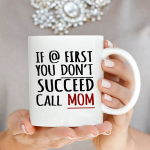 Funny Daughters Gift for Mom Coffee Mug this Mothers Day and Mama Birthday, Perfect Presents for Mother in Law and Grandmother - Stir Crazy Gifts