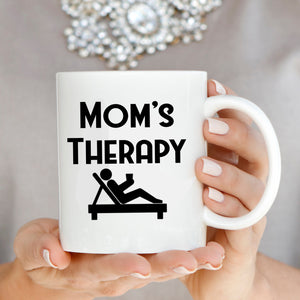 Funny Moms Therapy Coffee Mug, Unique Gifts for Mama, Grandmother, Mom Birthday and Mothers Day - Stir Crazy Gifts