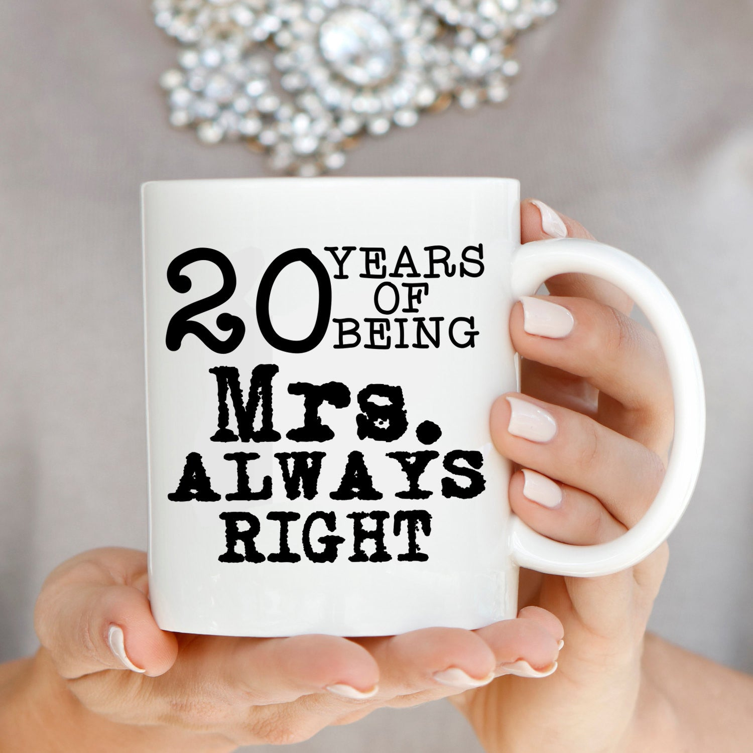 Personalized Number Of Years Wedding Anniversary Couples