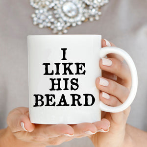 I Like His Beard Her Butt, Couple's Coffee Mug Set - Stir Crazy Gifts