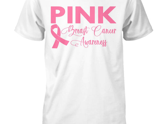 Think Pink Breast Cancer Awareness T-Shirt, Unisex