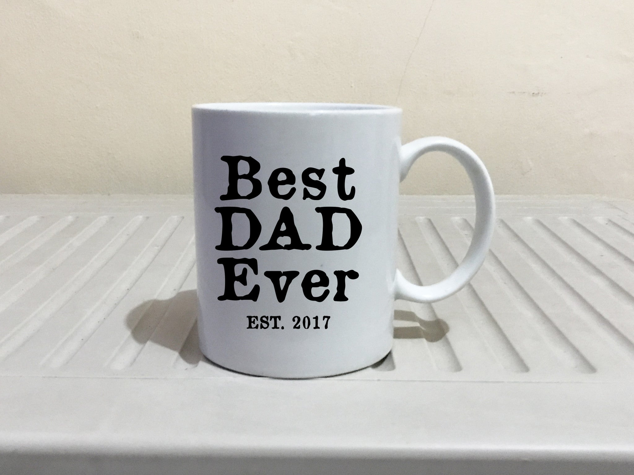 Best Papa Ever Coffee Mug Fathers Day Gift Present