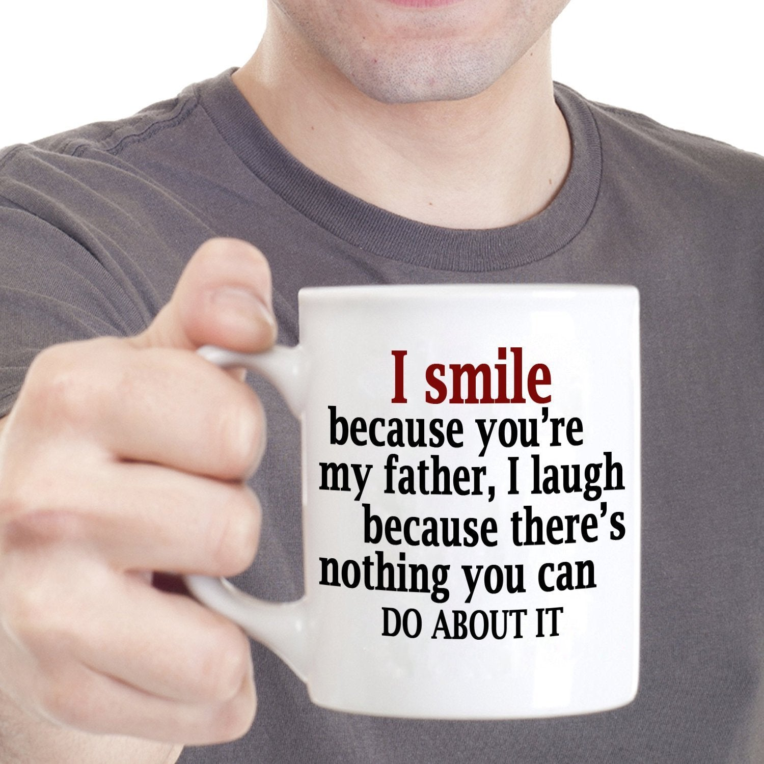 best father papa dad gifts from daughter coffee mug printed on both