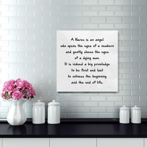 A Nurse Is An Angel Canvas Wraps - Stir Crazy Gifts