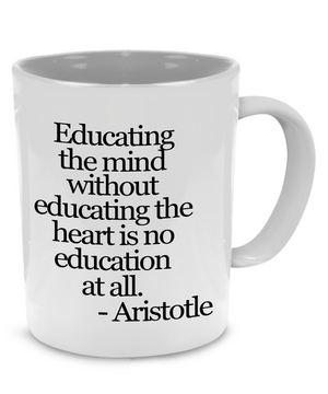 A Fun, Unique Teachers Coffee Mug, For Graduation, Appreciation, Retirement - Printed on Both Sides! - Stir Crazy Gifts