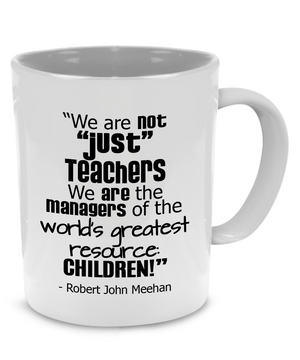 Fun Teacher, Graduation, Appreciation or Retirement Coffee Mug, A Cute, Unique Gift - Printed on Both Sides! - Stir Crazy Gifts