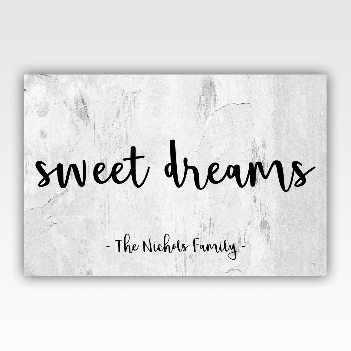 Personalized!! Sweet Dreams Family Artwork Canvas Home Decor Gift