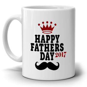 Happy Fathers Day Gifts Papa Grandpa Dad Coffee Mug Printed on Both Sides! - Stir Crazy Gifts