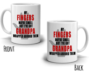 Inspirational Best Grandpa Gifts Coffee Mug, Printed on Both Sides!