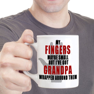 Inspirational Best Grandpa Gifts Coffee Mug, Printed on Both Sides! - Stir Crazy Gifts