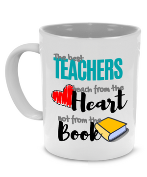 Funny Unique Thank You Teacher Gifts Coffee Mug for Women - Printed on Both Sides! - Stir Crazy Gifts
