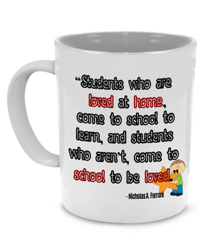 Funny Teacher Coffee Mug, Graduation, Thank You or Retirement Gift to Teachers - Printed on Both Sides!
