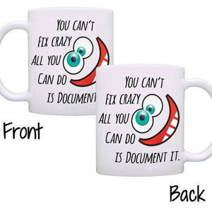 Funny Graduation Gift for Nurses - Gifts for Doctors and Nurse Practitioner Mug - Printed on Both Sides!