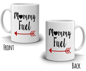 Mama and Grandma Gift Mug Mommy Fuel Coffee Cup, Printed on Both Sides! - Stir Crazy Gifts