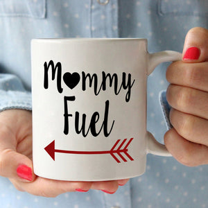 Mama and Grandma Gift Mug Mommy Fuel Coffee Cup, Printed on Both Sides!