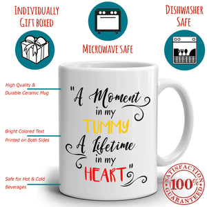 Cute Happy Mothers Day and Birthday Gifts for Moms Coffee Mug, Printed on Both Sides! - Stir Crazy Gifts