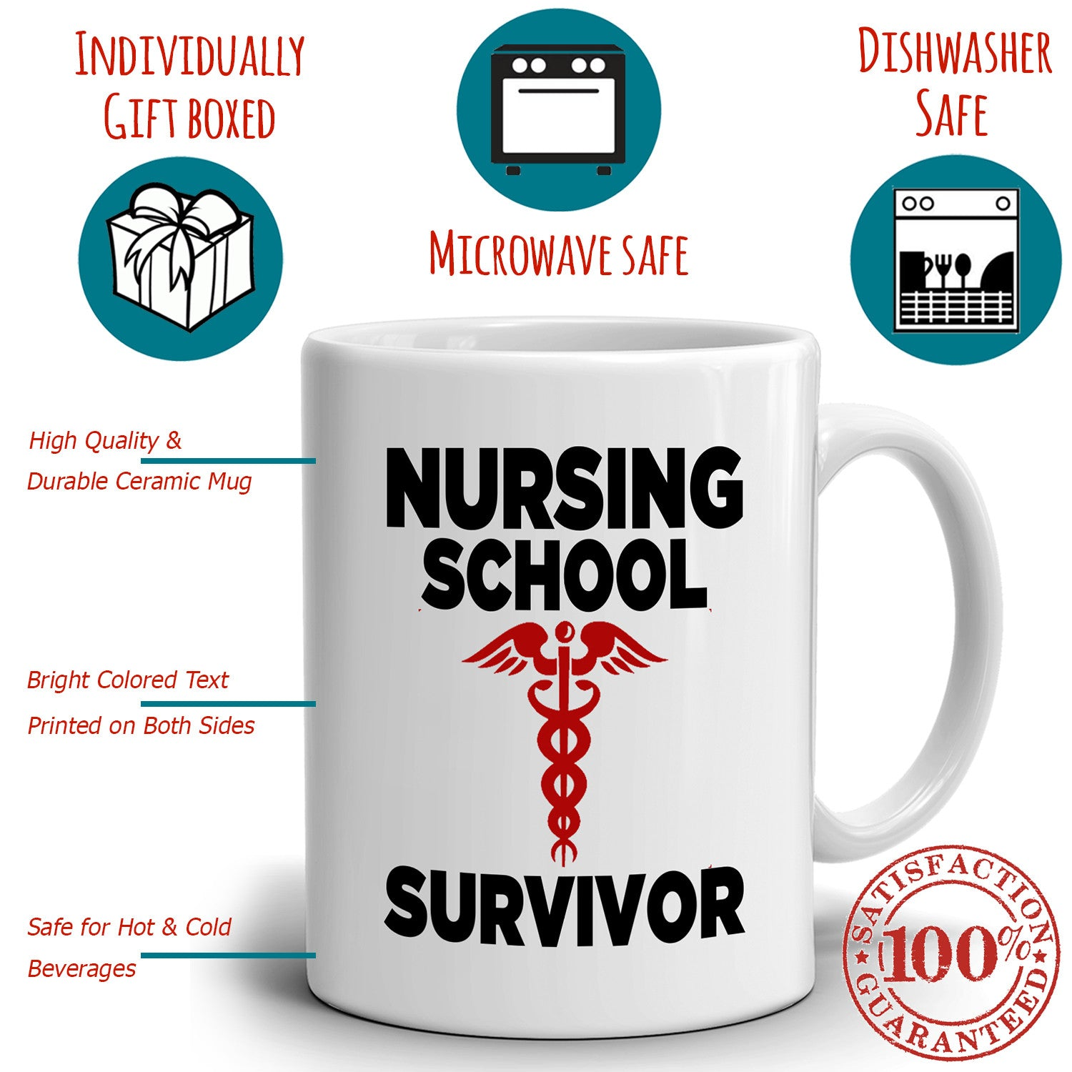 Nurse Graduation Gift Funny Nurses Coffee Mug