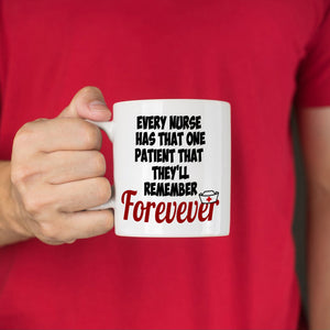 Inspirational Nurse Week Day Appreciation Gifts Coffee Mug, Printed on Both Sides! - Stir Crazy Gifts