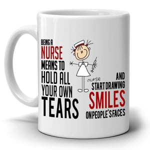 Inspirational Nursing Gifts Coffee Mug for Nurses, Printed on Both Sides!