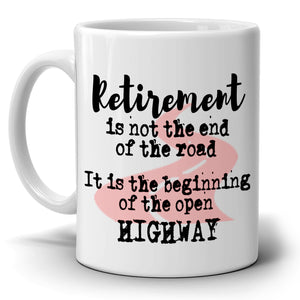 Inspirational Retirement Gift Mug for Coworkers Boss Men and Women, Printed on Both Sides! - Stir Crazy Gifts