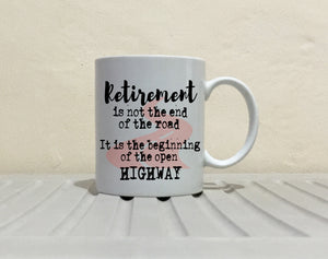 Inspirational Retirement Gift Mug for Coworkers Boss Men and Women, Printed on Both Sides!