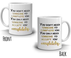 Romantic Gifts for Him and Her Coffee Mug, Perfect for Couples Anniversary Cup, Printed on Both Sides!