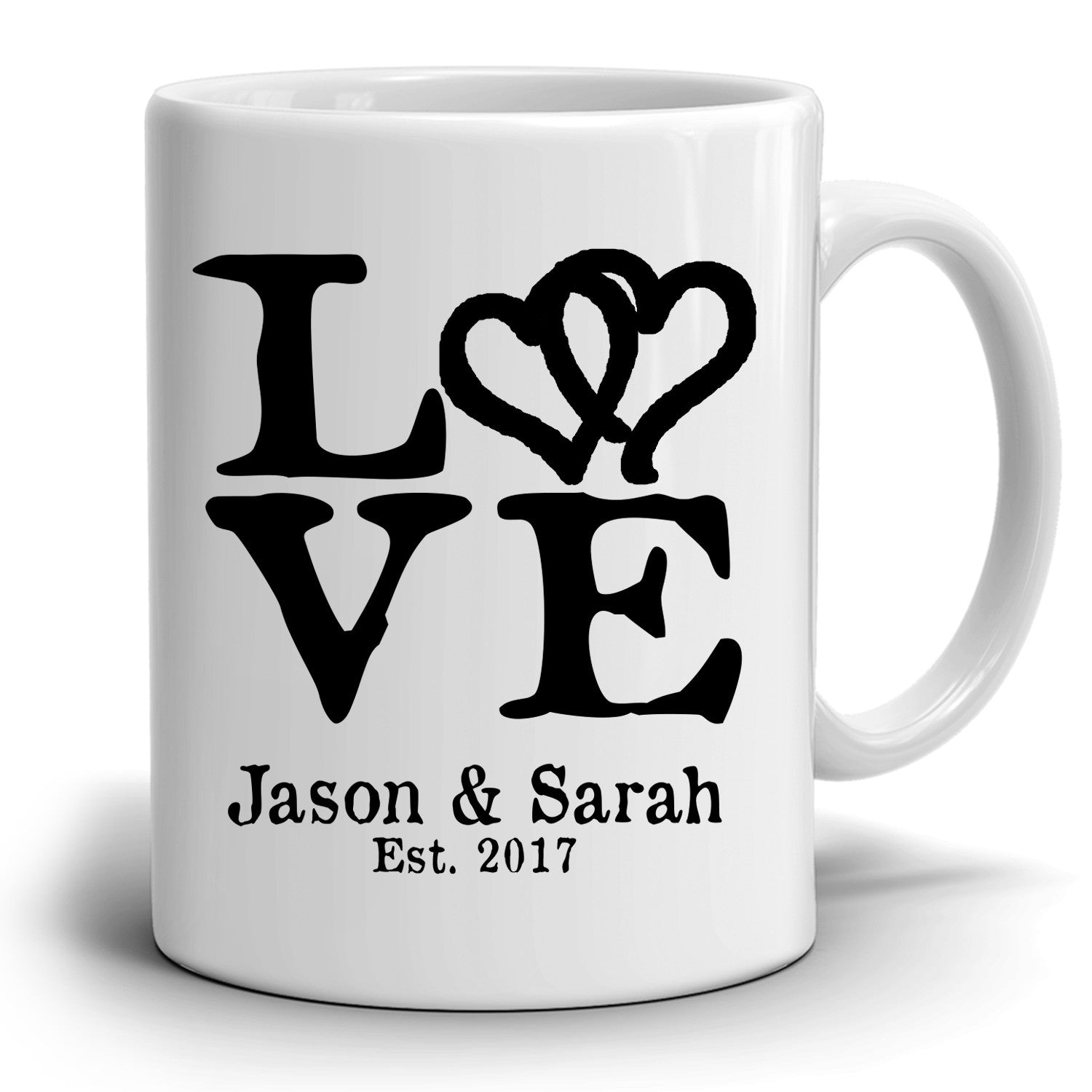 Best Gift For Wedding Anniversary For Husband: Personalized Romantic Love Husband And Wife Names Gift