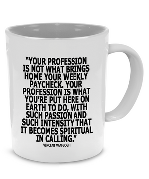 Funny Nursing Quotes Gifts for Doctors and Nurse Practitioner Gift Mug - Printed on Both Sides! - Stir Crazy Gifts