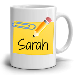 Personalized!! Fun Coffee Mug Retirement, Thank You Gift to Teacher, Printed on Both Sides!