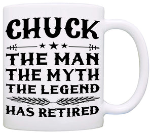 Personalized The Man The Myth The Legend Has Retired Gift Mug - Stir Crazy Gifts