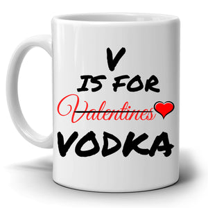 Funny Unique Valentines Day Couples Gift Coffee Mug for Mom Dad Husband Wife Girlfriend Boyfriend His and Her, Printed on Both Sides! - Stir Crazy Gifts