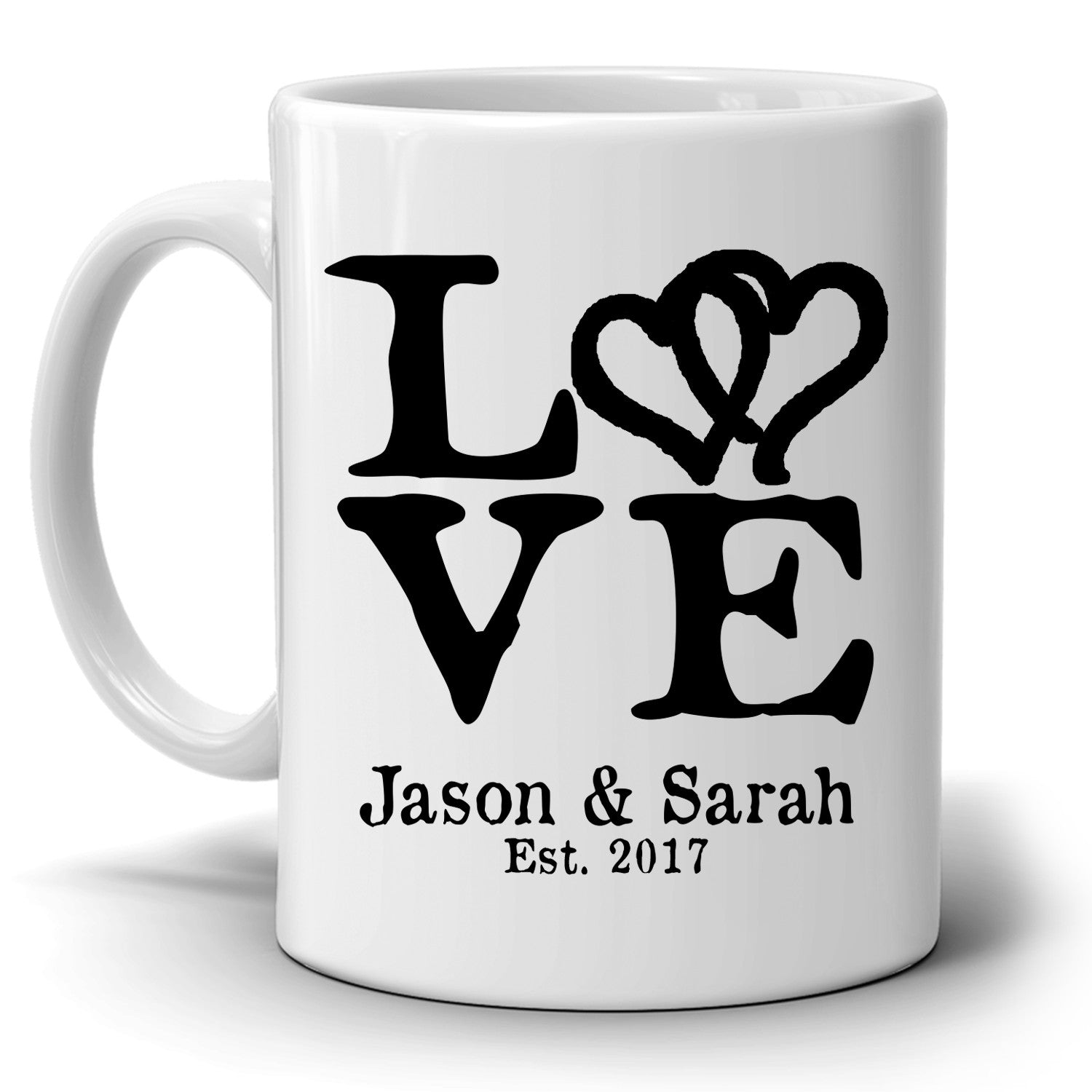Personalized Romantic Love Husband And Wife Names Gift