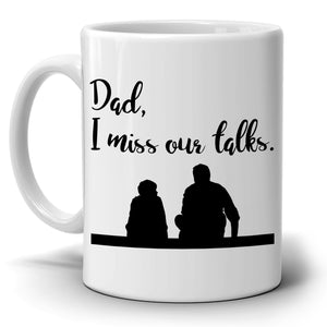 Fathers Day Gift from Son to Dad Coffee Mug, Perfect Birthday Present to Papa Grandpa and Godfather, Printed on Both Sides