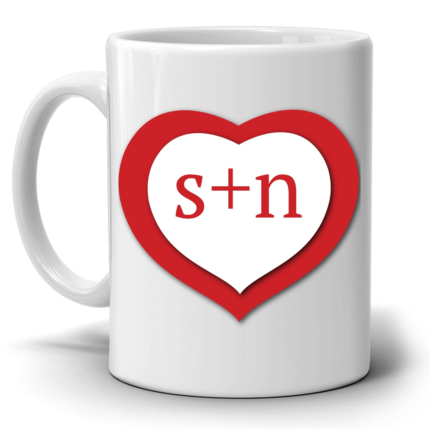 Romantic Wedding Gifts: Personalized! Romantic Couples Love Coffee Mug, Perfect