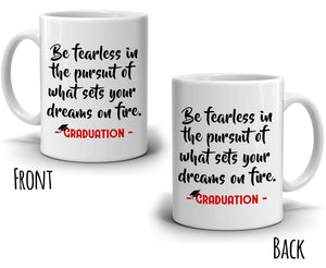Inspirational Unique College of Law, Teacher, Medical Nurse, PHD Graduation Gifts 2017 Coffee Mug, Printed on Both Sides! - Stir Crazy Gifts