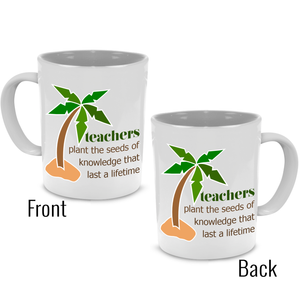 Fun Coffee Mug for Graduation, Retirement, Thank You, Teacher Gifts - Printed on Both Sides! - Stir Crazy Gifts