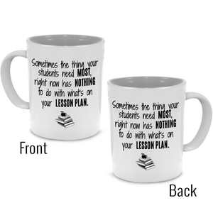 Fun, Cute, Unique Retirement Math Teacher Gifts Coffee Mug - Printed on Both Sides - Stir Crazy Gifts