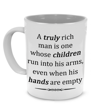 Papa Mug - Gift For Dad, Husband And Grandpa! Coffee Tea Mug 11oz Cup. Unique Gifts For Men! Christmas, Birthday, Father's Day