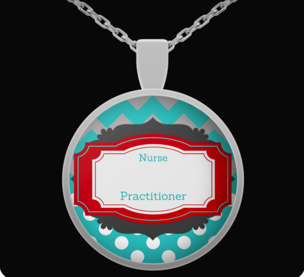 Personalized Nurse Practitioner Name - Nurse Gift Necklace