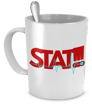 STAT!!! Emergency - Nurse Gift Mug
